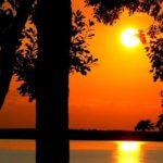 New York Mills - rush lake sunset